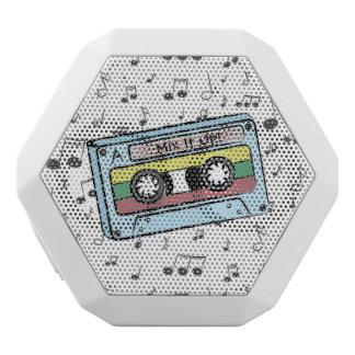 Notas de la cinta y de la música de casete del altavoz con bluetooth