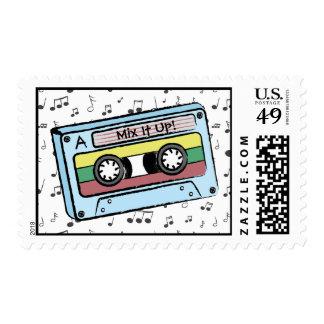 Notas de la cinta y de la música de casete del sellos