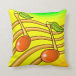 Notas de la fruta almohadas