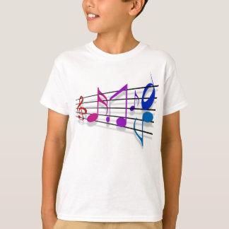 Notas de la música camisas