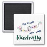 Notas de la música de Nashville Imanes De Nevera