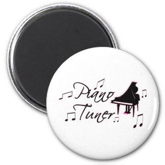 Notas de la música del sintonizador de piano con l imanes de nevera
