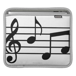 Notas de la música manga de iPad