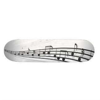 notas de la música patinetas personalizadas