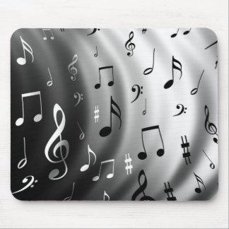 Notas de la música alfombrilla de ratón
