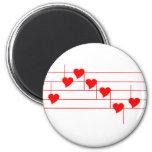 Notas de Love'n Imán Redondo 5 Cm