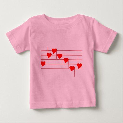 Notas de Love'n Playera Para Bebé