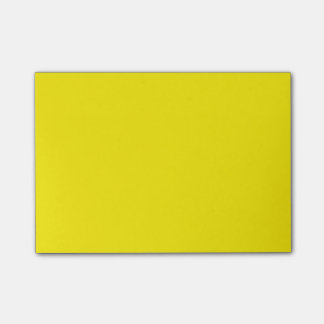 Notas de post-it amarillas de la fiambrera nota post-it