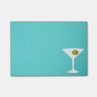Notas de post-it clásicas de Martini de la Post-it Notas