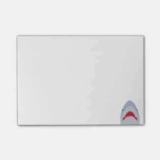 Notas de post-it del tiburón post-it® nota