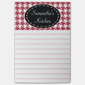 Notas de post-it personalizadas de la cocina de post-it® notas