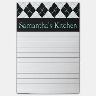 Notas de post-it personalizadas de la cocina post-it nota