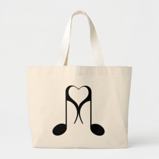 notas del amor: 8va nota: bolsa tela grande