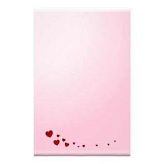 Notas del amor papelería de diseño