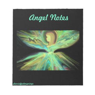 Notas del ángel libreta para notas