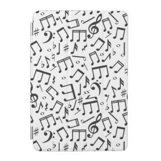 Notas del baile en negro y blanco cover de iPad mini