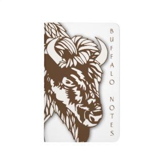 Notas del búfalo cuadernos grapados