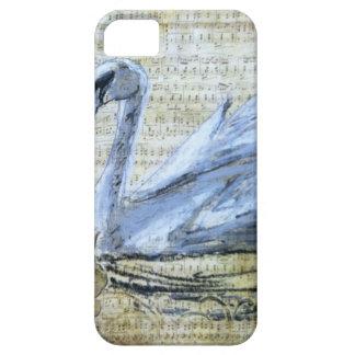 Notas del cisne iPhone 5 carcasa