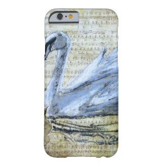 Notas del cisne funda para iPhone 6 barely there