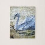 Notas del cisne puzzles