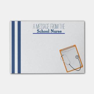 Notas del Poste-it® de la enfermera de la escuela Post-it Notas