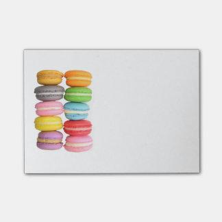 Notas del Poste-it® de Macarons Notas Post-it®