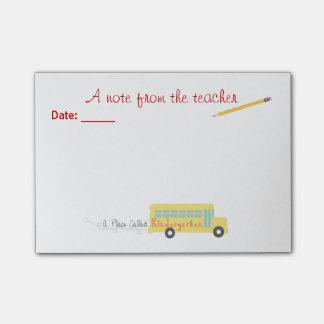 Notas del Poste-it® del maestro de jardín de infan Post-it Notas