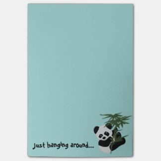 Notas del Poste-it® del pequeño panda Post-it® Notas