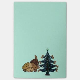 Notas felices del Poste-it® del navidad del Post-it Notas