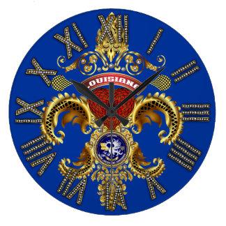 Notas importantes de la opinión del logotipo de Lu Reloj Redondo Grande