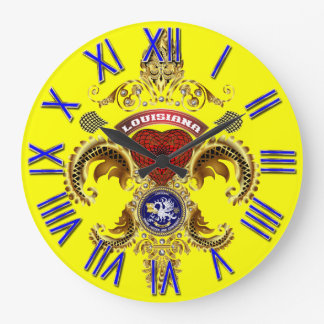 Notas importantes de la opinión del logotipo de reloj redondo grande