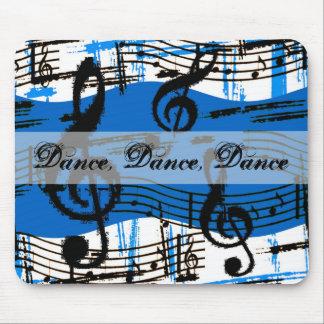 Notas Mousepad de la danza y de la música