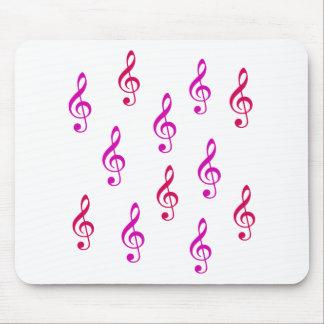 Notas - música alfombrilla de raton