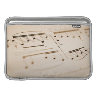 Notas musicales 2 funda  MacBook