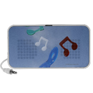 Notas musicales 3 iPod altavoz
