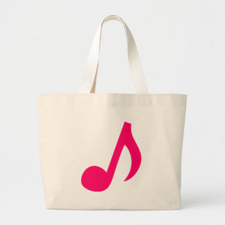 Notas musicales bolsa tela grande