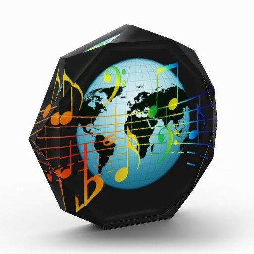 Notas musicales del mundo
