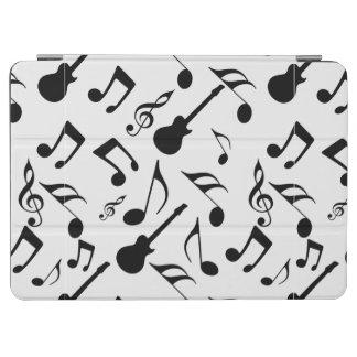 Notas musicales - diseño de la partitura cubierta de iPad air