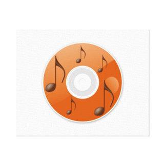 Notas musicales sobre el CD Impresión En Lona Estirada