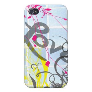 notas pegajosas del amor iPhone 4/4S carcasas