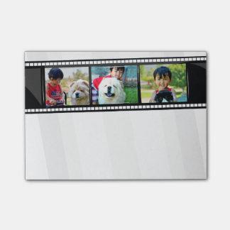 notas pegajosas personalizadas tira de la foto de post-it® nota