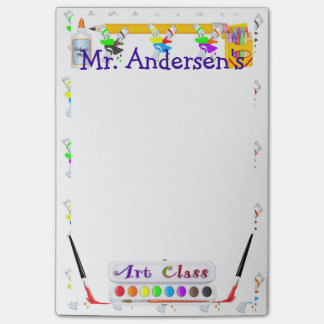 Notas personalizadas del Poste-it® de la clase de Post-it Nota