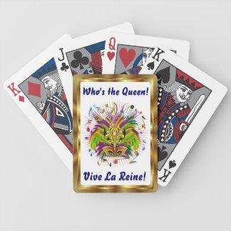 Notas Plse de la opinión del estilo 3 de la reina  Cartas De Juego