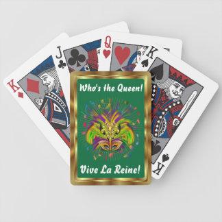 Notas Plse de la opinión del estilo 3 de la reina  Baraja De Cartas