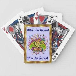 Notas Plse de la opinión del estilo 3 de la reina  Baraja