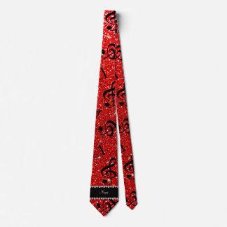 Notas rojas de neón conocidas personalizadas de la corbatas personalizadas