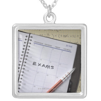 Notation in Calendar Custom Necklace