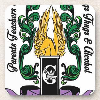 Not'Cho Average Guardians Crest Beverage Coaster