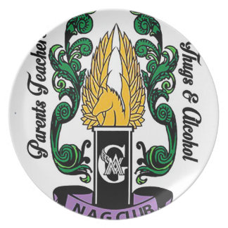 Not'Cho Average Guardians Crest Plate