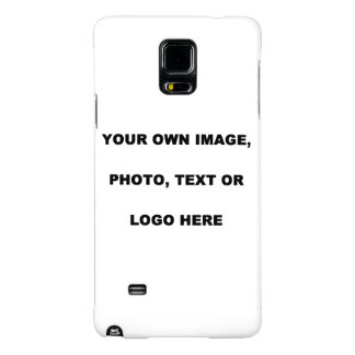 Note 4, UPLOAD, ADD, PUT OWN IMAGE PHOTO TEXT LOGO Galaxy Note 4 Case
